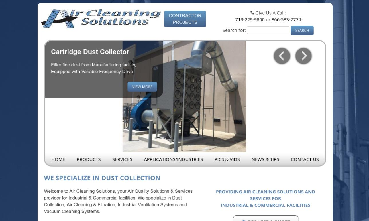 Air Cleaning Solutions