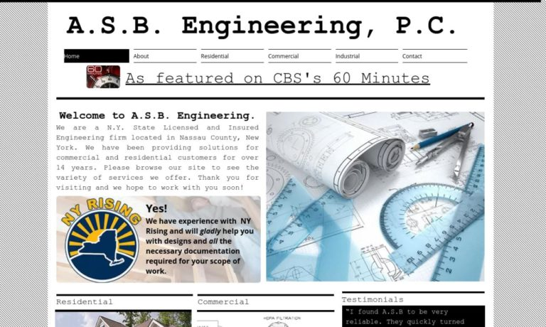 A.S.B. Engineering, P.C.