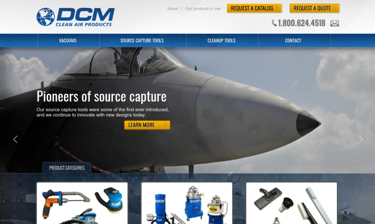 DCM Clean-Air™ Products, Inc.