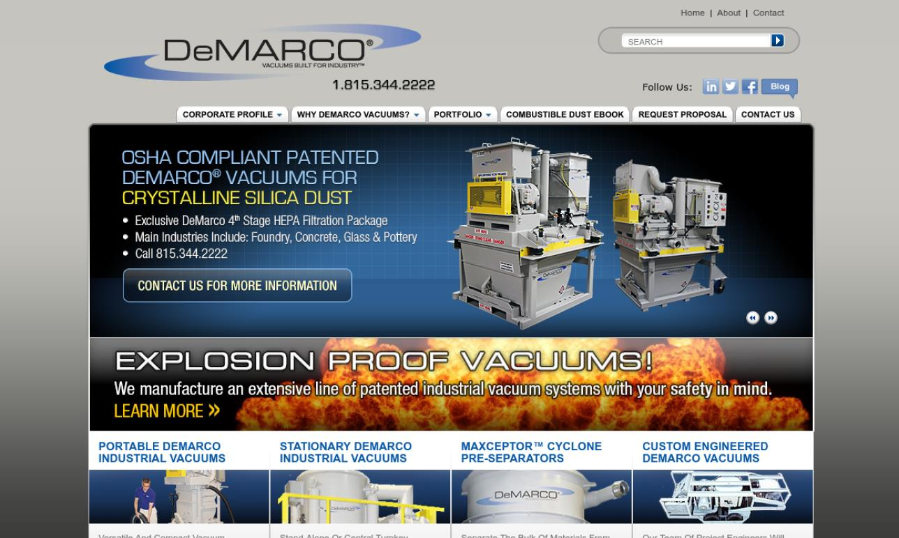 DeMarco MAX VAC® Corporation