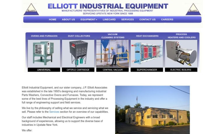 Elliott Industrial Equipment Inc.