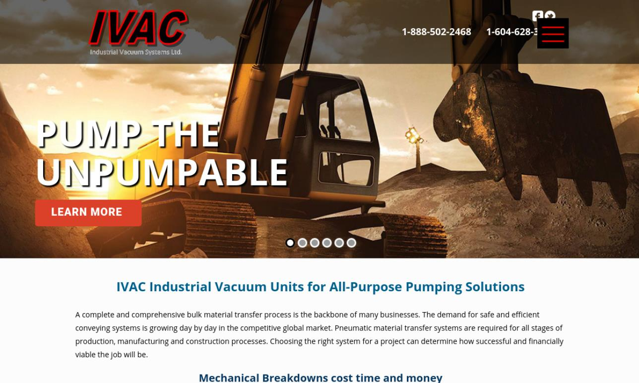 IVAC Industrial Vacuum Systems Ltd