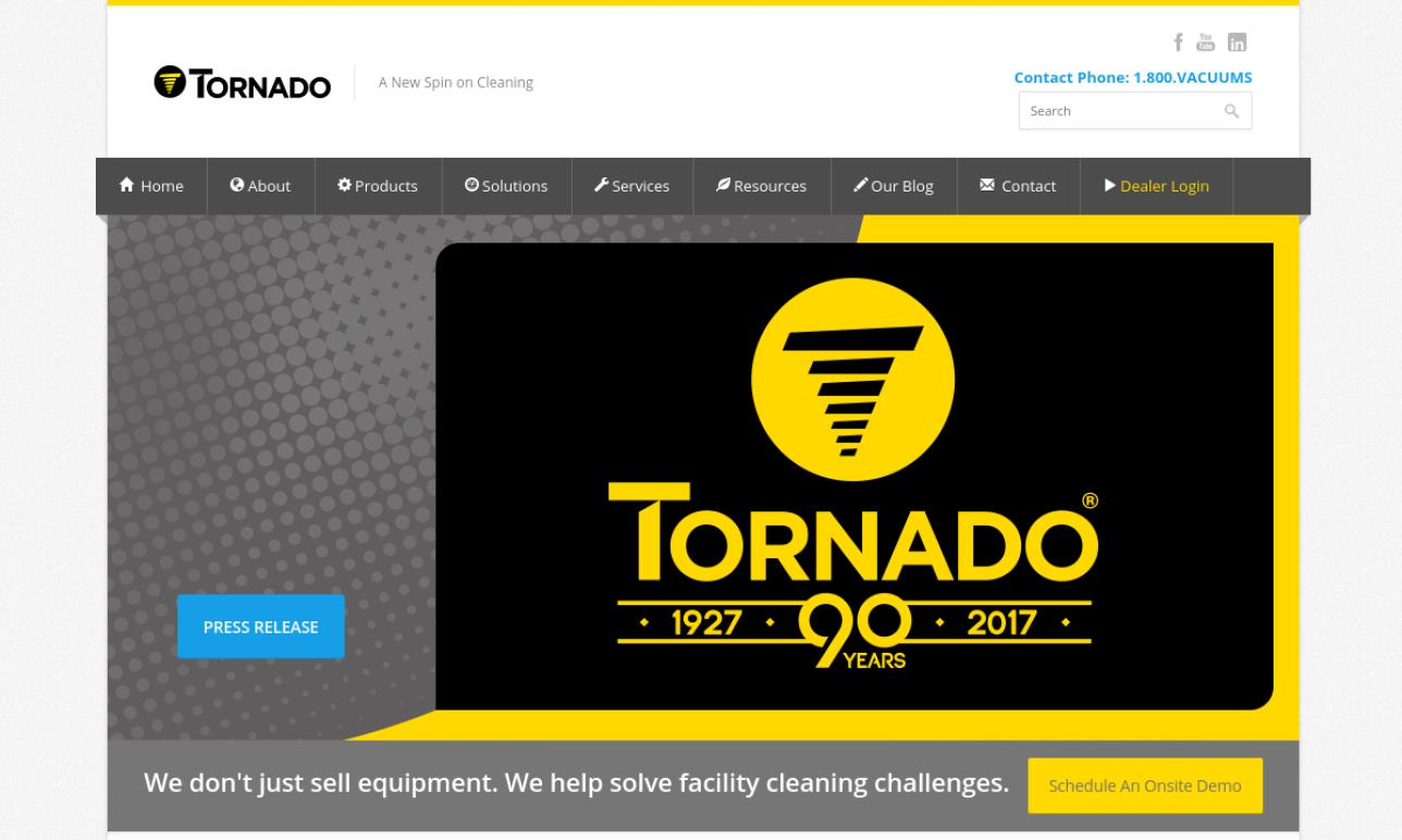 Tornado® Industries, Inc.